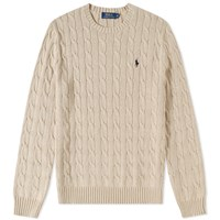 Polo Ralph Lauren Cable Crew Knit Neutrals