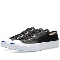 Converse Jack Purcell Signature Ox Perforated Black