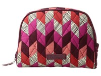 Vera Bradley Medium Zip Cosmetic Bohemian Chevron Cosmetic Case Multi