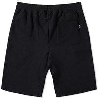 Stussy Stock Fleece Short Black