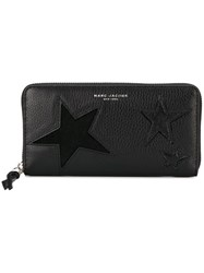 Marc Jacobs 'Star Patchwork' Continental Wallet Black