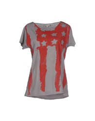 La Fee Maraboutee Topwear T Shirts Women Dove Grey