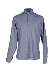 Ballantyne Shirts Shirts Men Blue