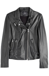 Steffen Schraut Vintage Leather Biker Jacket