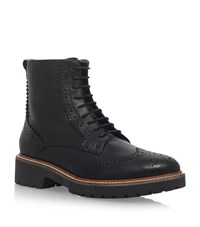 Carvela Kurt Geiger Snail Brogue Ankle Boots Female Black