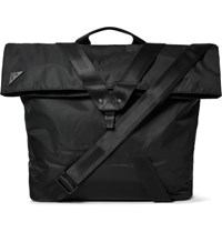 Under Armour Sportswear Excursion Road Webbing And Leather Trimmed Nylon Tote Bag Black