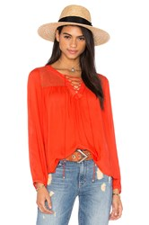 Heartloom Lima Top Red