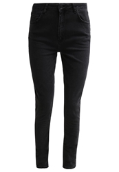 Just Female Stroke Slim Fit Jeans Black Grey