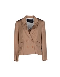Tara Jarmon Suits And Jackets Blazers Women Camel