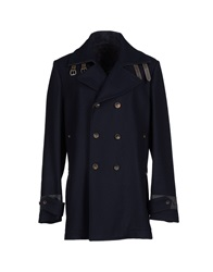 Patrizia Pepe Coats Dark Blue