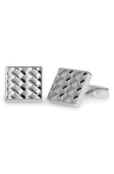 Boss Men's 'Argo' Cuff Links Silver