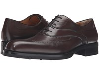 A. Testoni M12504vem Moro Men's Lace Up Casual Shoes Brown