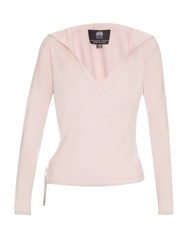 Pepper And Mayne Cashmere Hooded Ballet Wrap Light Pink
