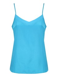 Jane Norman Sheer Camisole Top Blue