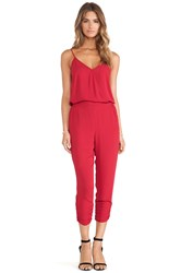 Eight Sixty Jumpsuit Red