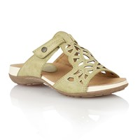 Lotus Minea Open Toe Sandals Green