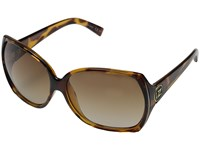 Von Zipper Trudie Tort Gradient Lens Sport Sunglasses Brown