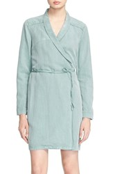 Women's Ayr 'The Islander' Shawl Collar Wrap Dress