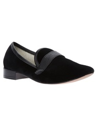 Repetto Round Toe Loafer Black