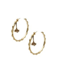 Christian Dior Dior Earrings Gold