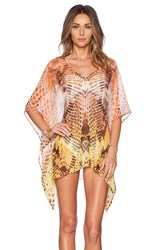 Lotta Stensson Viper Poncho Top Yellow