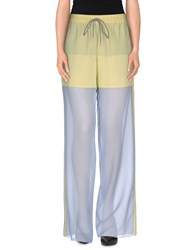 Viktor And Rolf Trousers Casual Trousers Women Light Yellow
