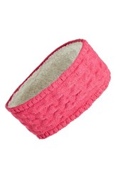 Echo Knit Headband Pink Raspberry