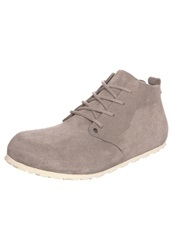 Birkenstock Dundee Laceup Boots Mocca Taupe