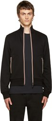 Moncler Black Zip Up Maglia Sweater