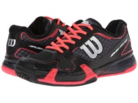 Wilson Rush Pro 2.0 Coal Black Red Women's Tennis Shoes