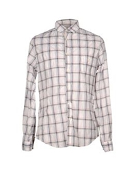 Master Coat Shirts Light Grey