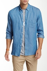 Barney Cools Folky Shirt Blue