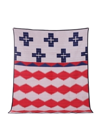 Pendleton Brave Star Blanket Red White And Blue Soto Berlin