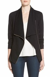 Trouve Women's Trouve Drape Front Knit Jacket