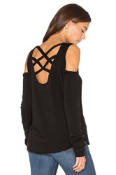 Generation Love Marie Crisscross Sweatshirt Black