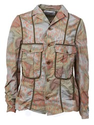 Kolor Printed Cargo Jacket Multicolour