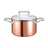 Kitchenaid 3 Ply Copper Saucepan 2.8L
