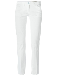 Jacob Cohen Classic Low Rise Trousers White
