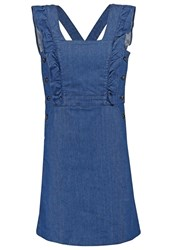 Cacharel Denim Dress Denim Blue Denim