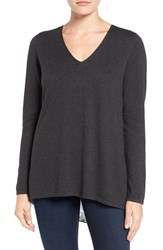 Nydj Women's Layered Look Cutaway Back Sweater