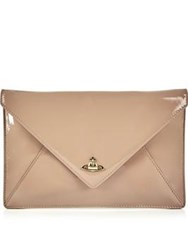 Vivienne Westwood Exclusive Patent Private Clutch Nude