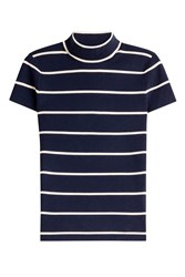 Polo Ralph Lauren Striped Turtleneck Top Stripes