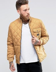 Lee Quilted Jacket Dijon Yellow Dijon