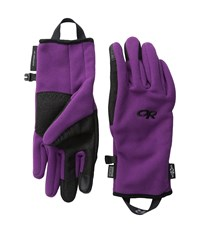 Outdoor Research Gripper Sensor Gloves Orchid Extreme Cold Weather Gloves Purple
