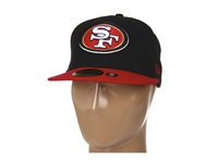 New Era San Francisco 49Ers Nfl Black Team 59Fifty Black Red Baseball Caps