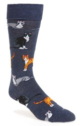 Hot Sox Men's 'Cats' Socks