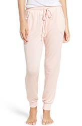 Make Model Women's 'Varsity' Jogger Sweatpants Pink Impatiens