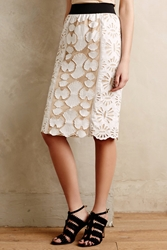 Kas Larkin Pencil Skirt White