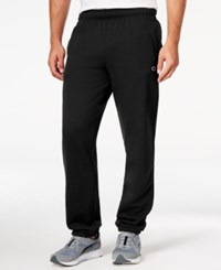 Champion Men's Powerblend Fleece Relaxed Pants Black