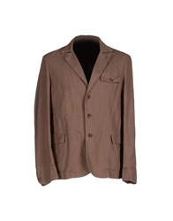 Montedoro Suits And Jackets Blazers Men Cocoa